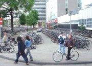 Bicicletário em Amsterdam