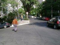 R. Pamplona com R. Ribeirão Preto, sem faixa de pedestres