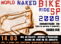 World Naked Bike Ride 2009 - Pedalada Pelada 2009