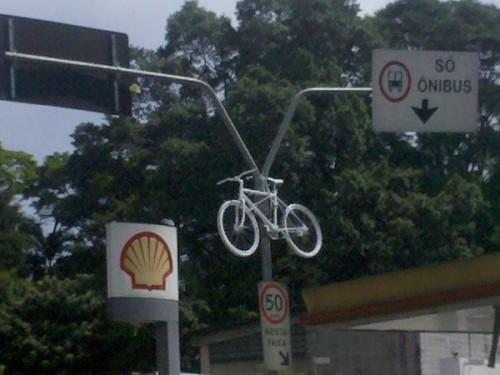 Ghost Bike - Manoel Pereira Torres