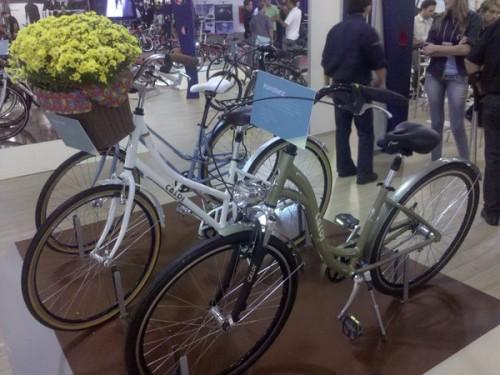 Alguns dos protótipos das novas bicicletas urbanas da Caloi