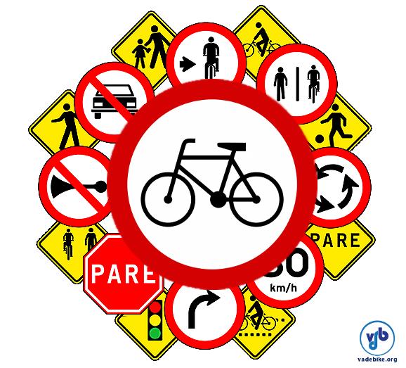 codigo de transito bicicletas ciclistas placas