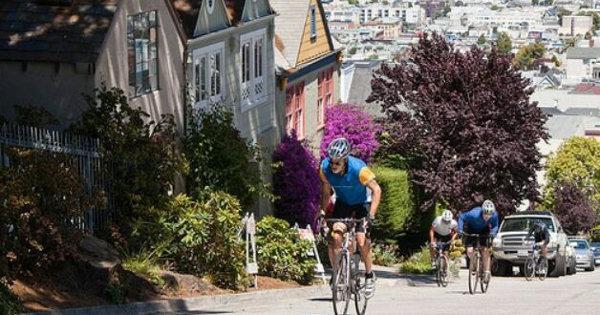 Uma subida de respeito em San Francisco, Califórnia (EUA). Como lidar?