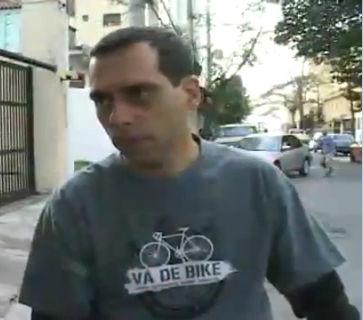 De bicicleta para o trabalho - Willian Cruz - G1