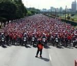 Sete mil pessoas participarão do evento esse ano. Como fazer para levar a bicicleta pra casa? (Foto: Divulgação)