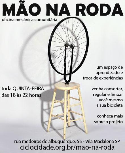 Ciclo-oficina comunitária Mão na Roda