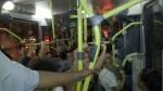 ônibus lotado