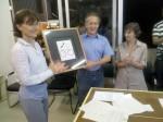 Paula Montero (Cebrap) e Walter Feldman (SEME) assinam contrato para criação das Ciclorrotas na cidade de São Paulo