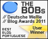 Best Blog Portuguese - Deutsche Welle Blog Awards 2011