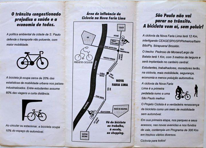 Ciclovia Faria Lima - verso