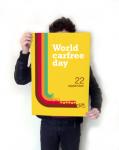Cartaz do Dia Mundial Sem Carro, elaborado e gentilmente cedido por Mateus Bagatini