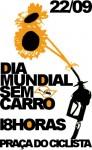 Convite Dia Mundial Sem Carro 2010