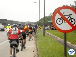 Rota Cicloturística Márcia Prado - driblando proibições