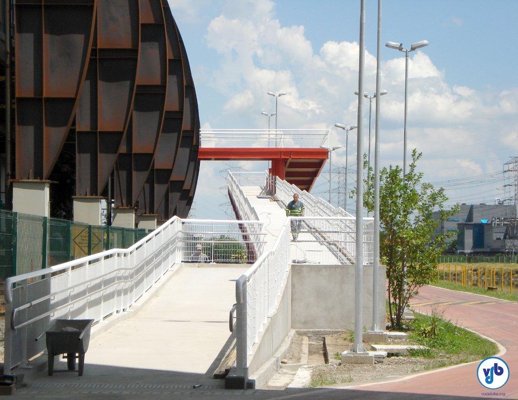 Acesso da estação Santo Amaro. Foto: Willian Cruz