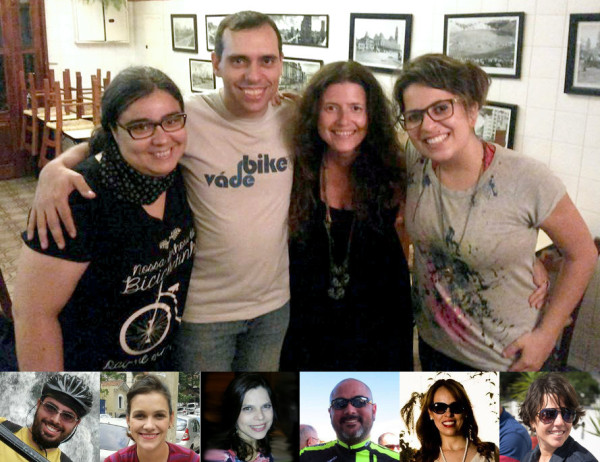 Lívia, Willian, Rachel, Aline, Enzo, Verônica, Priscila, Fábio, Aline e Silvia.