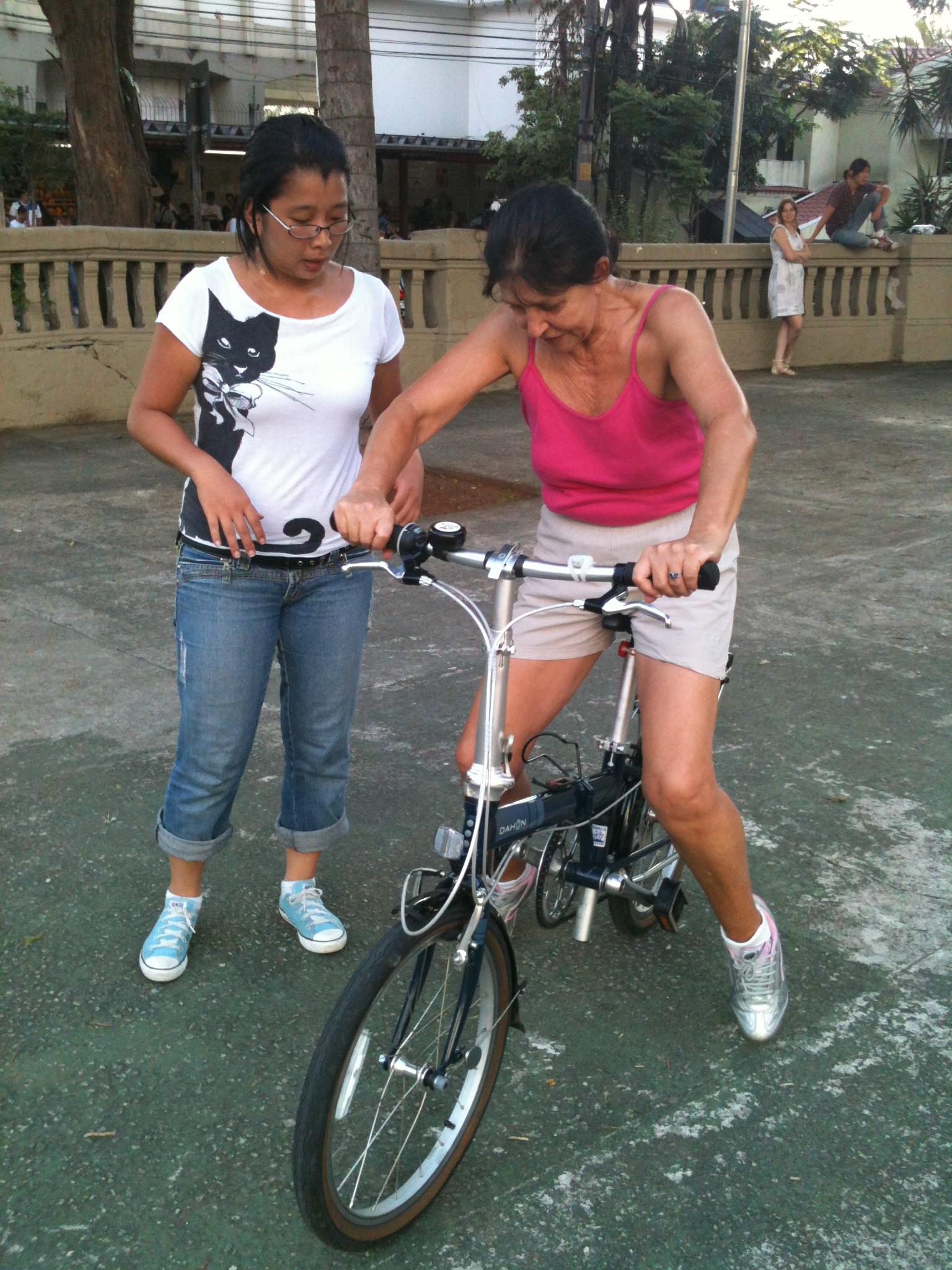 Exercício de persistência! Foto: Aline Cavalcante