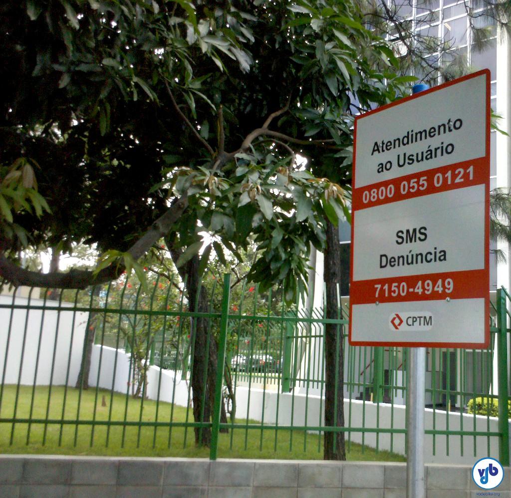 SMS Denuncia Ciclovia Rio Pinheiros
