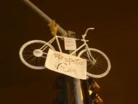 Ghost Bike de Lauro Neri. Foto: Aline Cavalcante