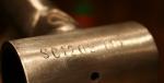Número de série de uma bicicleta, na parte inferior do quadro. Foto: Serendipity Cycles/Divulgação