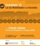 Ciclodebate - lei da mobilidade e a bicicleta