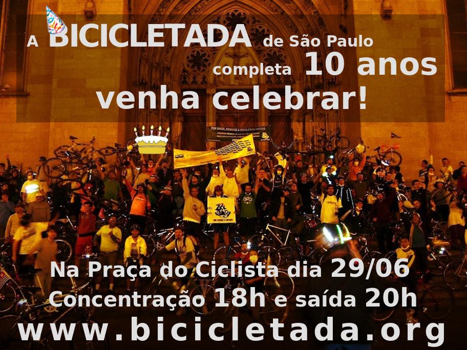 bicicletada 10 anos