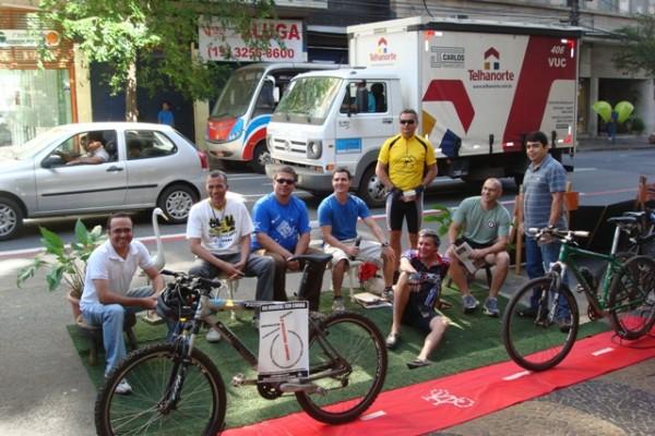 Campinas, 2011 - com direito a ciclofaixa! Foto: Wilder Stanrley Degan/Divulgação