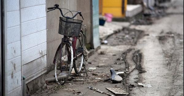 Bicicletas foram muito importantes para a população japonesa logo após o terremoto de 2011. Foto: Robin Low (cc)