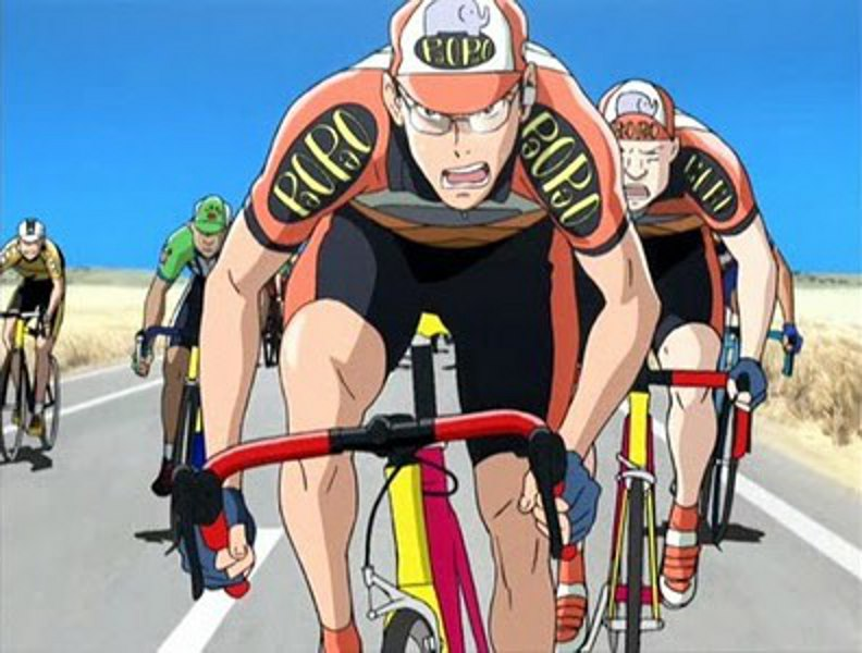 animação retrata a emoção e os desafios do ciclismo de estrada