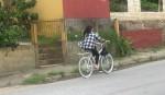 Mulher pedala Ghost Bike que havia desaparecido em Florianópolis. Foto: Diogo Honorato