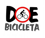 logo doe bicicleta rodas da paz grande