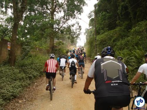 Até a estrada de terra sofreu críticas de quem não estava habituado ao cicloturismo. Foto: Willian Cruz
