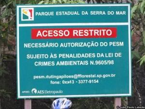 É preciso autorização para utilizar a Estrada de Manutenção, mas ela costuma ser concedida sem dificuldade. Foto: João Paulo Labeda/Instituto CicloBR