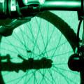 bicicleta ciclista rua sombra