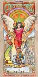 Poster da artista Mona Caron em comemoração ao 20º aniversário da Massa Crítica de San Francisco. Imagem: Divulgação