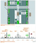 Projeto de ciclovia para a Avenida Paulista consta do estudo entregue para a Secretaria Municipal do Verde e Meio Ambiente. Imagem: SVMA/TC Urbes/Reprodução