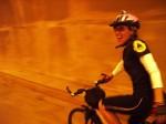 Divertida e feliz, Julie participava ativamente de movimentos de luta pelo direito de utilizar a bicicleta como meio de transporte. Foto: acervo pessoal
