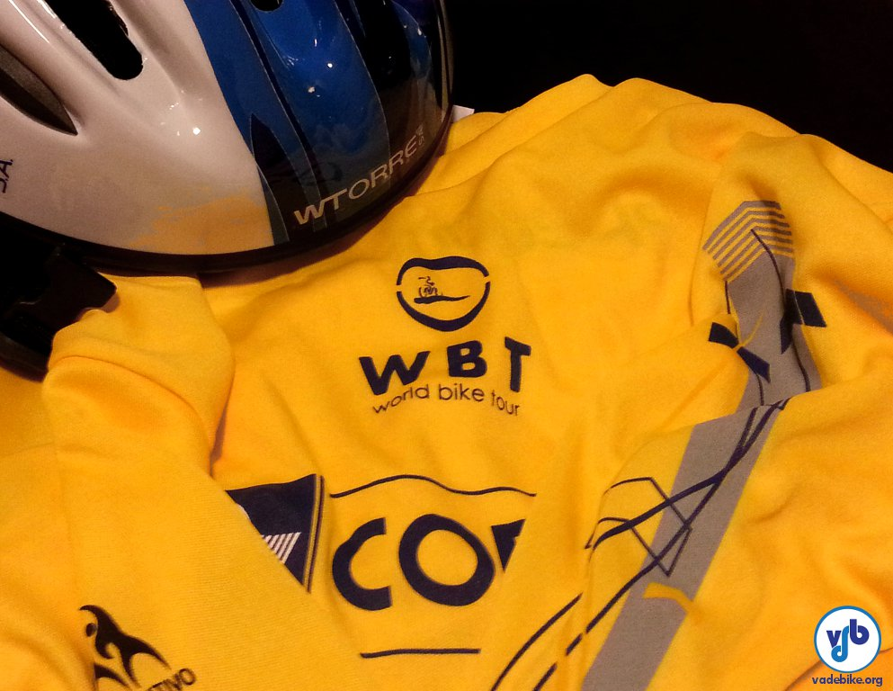 world bike tour 2013 camiseta capacete