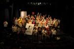 Assembléia geral ao final do Fórum reuniu centenas de pessoas de várias cidades brasileiras. Foto: Divulgação
