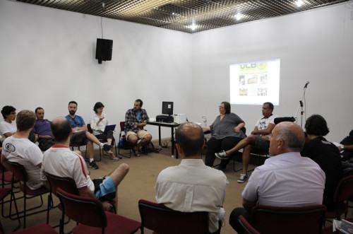 """Oficina """"A construção da UCB – União dos Ciclistas do Brasil"""". Foto: Divulgação"""