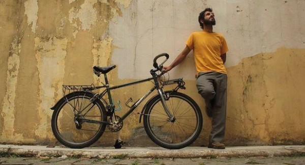 Felipe Baenninger, idealizador do Projeto Transite, vai pedalar por mais de 17 mil quilometros pelo Brasil