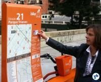 Bicicletas podem ser liberadas com o Bilhete Único, após cadastro no site. Foto: Willian Cruz