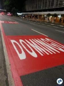 Para o lazer no final de semana, a sinalização está ótima. O próximo passo deve ser sinalizar o direito de uso nos outros dias. Foto: Willian Cruz/VdB