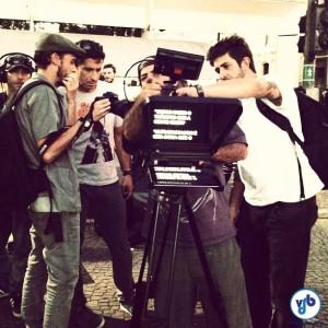 Cenas foram gravadas no dia 6 de junho. Foto: Aline Cavalcante