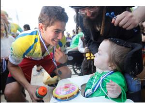 O encontro com as crianças é sempre um momento de muita emoção. Foto: Divulgação