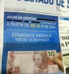 carro a 10 reais por dia - mini