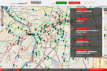 Ferramenta recebe a colaboração da população através da internet, permitindo marcar o local no mapa. Imagem: reprodução