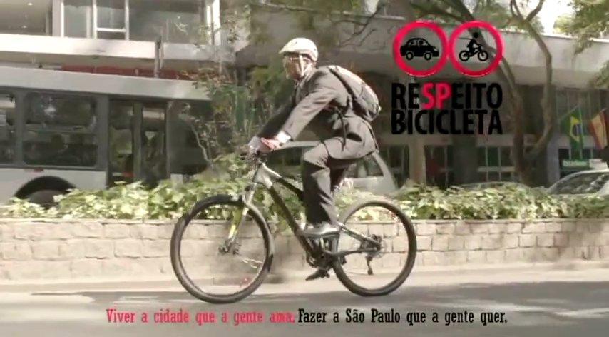 """Filme para a TV foi incluído na campanha """"a São Paulo que a gente quer"""".  Imagem: PMSP/Reprodução"""