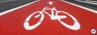 Infraestrutura para bicicletas pode ser criada com facilidade, bastando vontade política de fazê-lo. Foto: Willian Cruz