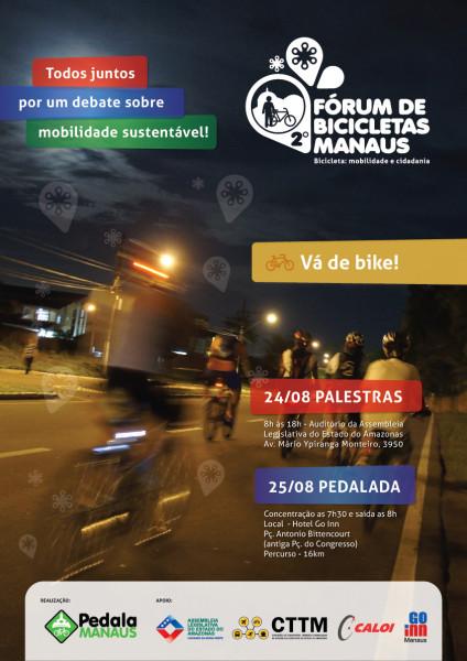 Fórum acontece nos dias 24 e 25 de agosto, na capital amazonense.