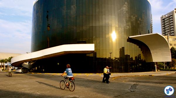 Música e bicicleta coloriram a manhã paulistana. Foto: Rachel Schein/VdB